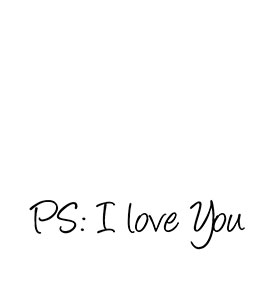"Vinil ""ps: I Love You"""