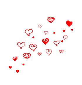 Vinil 'Hearts'