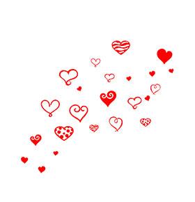"""Vinil """"Hearts"""""""
