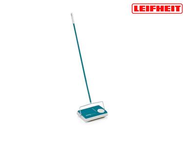 Vassoura de Tapetes Regulus c/Escovas Ajustáveis | Azul