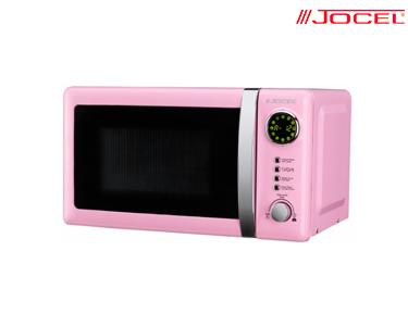 Microondas Jocel® Rosa 700W | 20 Litros