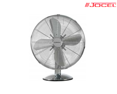 Ventoinha de Mesa em Inox Jocel® 50W | 40 cm
