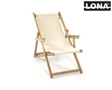 Cadeira de Descanso c/ Braços | Bege