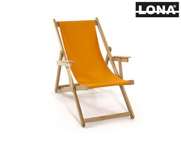 Cadeira de Descanso c/ Braços | Laranja