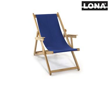 Cadeira de Descanso c/ Braços | Azul
