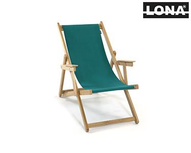 Cadeira de Descanso c/ Braços | Verde Água