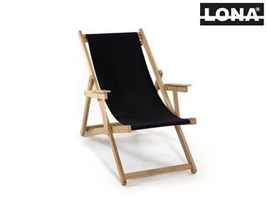 Cadeira de Descanso c/ Braços | Preto