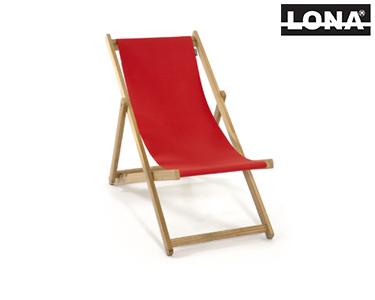 Cadeira de Descanso   Vermelho