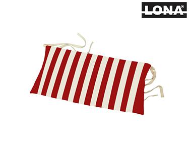 Almofada de Cabeça p/ Cadeira c/ Riscas | Vermelho