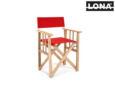 Cadeira Pequena Realizador | Vermelho