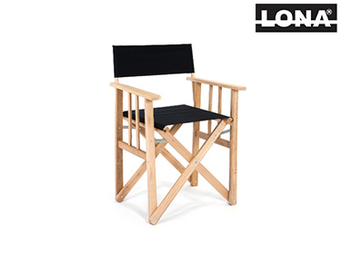 Cadeira Pequena Realizador   Preto
