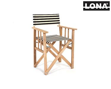 Cadeira Pequena Realizador c/ Riscas | Azul