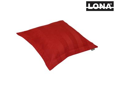 Almofada c/ Enchimento Quadrada | Vermelho