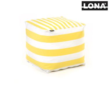 Puff Quadrado | Amarelo