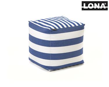 Puff Quadrado | Azul