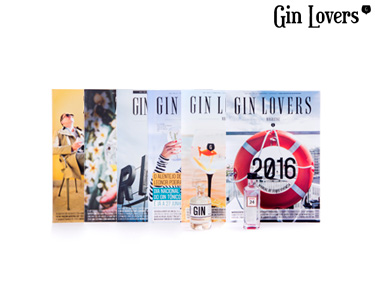 Pack Revistas Gin Lovers® | Zest 1 e 2 + Magazine 3, 4, 5 e 6
