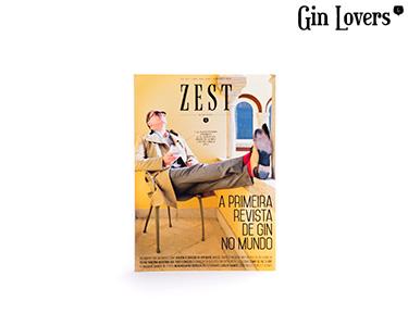 Gin Lovers® ZEST 1 |  1ª Revista de Gin no Mundo