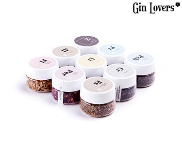 Gin Lovers® | Botânicos Gourmet Pack 1