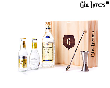 Gin Lovers® ® | Kit Premium Seagrams