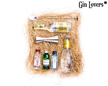 Gin Lovers® | Kit Miniaturas London Dry Beefeater + Bombay + Tanqueray