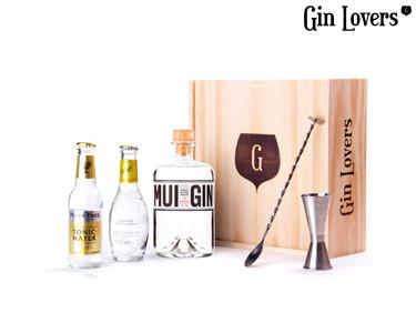 Gin Lovers® | Kit Premium MUI GIN, do chef. Hélio Loureiro