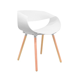 Cadeira Nórdica Cappio | Branco