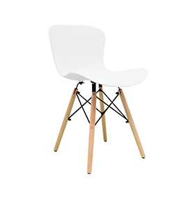 Cadeira Nórdica Klover | Branca