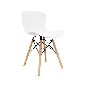 Cadeira Nórdica Klover | Branco