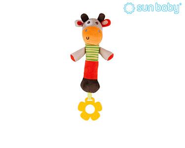 Brinquedo Mordedor com Som | Vaca
