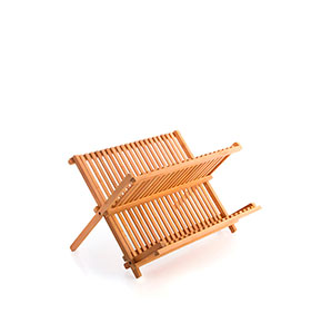 Escorredor para Loiça de Bambu