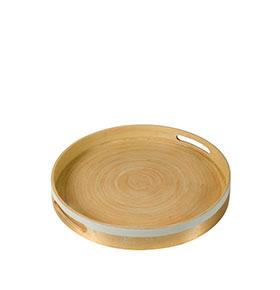 Tabuleiro de bambu by Bravissima Kitchen | 34,0 x 44,0 x 34,0