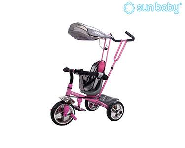 Triciclo Controlado Super Trike | Rosa e Preto