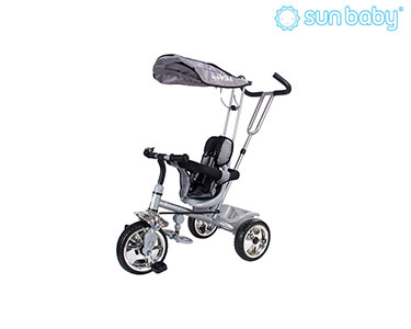 Triciclo Controlado Super Trike | Cinza