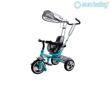 Triciclo Controlado Super Trike | Azul Turquesa