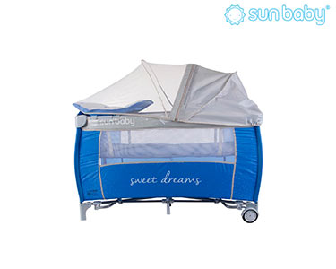 Cama de Viagem Sweet Dreams | Azul Escuro