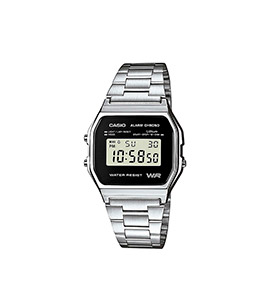 Relógio Casio® Collection A158WEA-1EF | Prateado