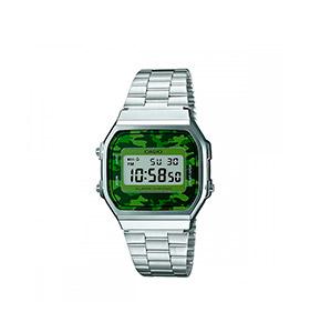 Relógio Casio® Collection A168WEC-3EF | Prateado