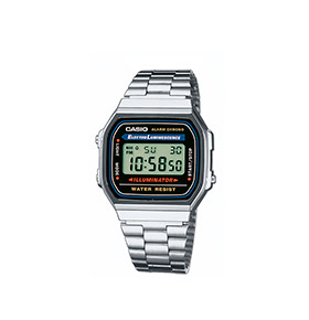 Relógio Casio® Collection A168WA-1YES | Prateado