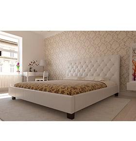 Cama para Colchão 200x180 Romantic | Branco