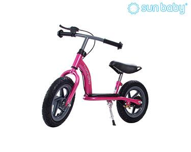 Bicicleta Scooter c/ Duas Rodas | Rosa