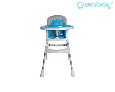 Cadeira Alta Básica de Refeição | Cinza
