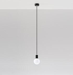 Candeeiro de Tecto NL.0152 | Branco e Transparente