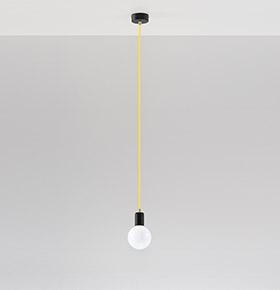 Candeeiro de Tecto NL.0153 | Branco e Transparente