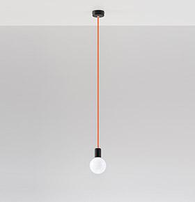 Candeeiro de Tecto NL.0154 | Branco e Transparente