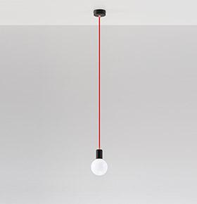 Candeeiro de Tecto NL.0155 | Branco e Transparente