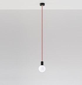 Candeeiro de Tecto NL.0158 | Branco e Transparente