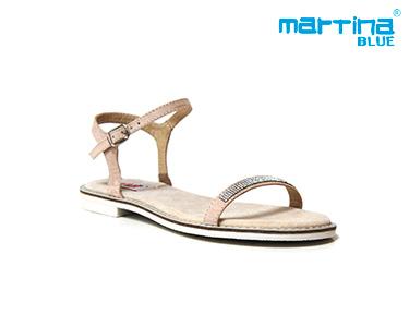 Sandálias Rasas Martina Blue® | Torrado
