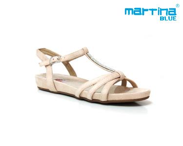Sandálias Bianatomic Martina Blue® | Branco