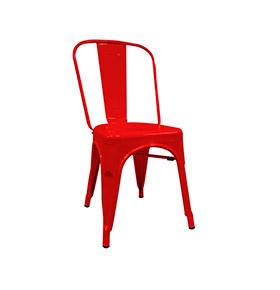 Cadeira Industrial Torix | Vermelho
