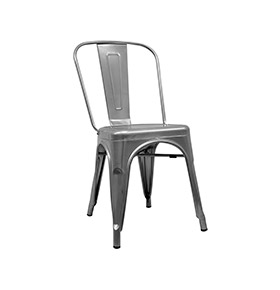 Cadeira Industrial Torix | Cinzento Metalizado